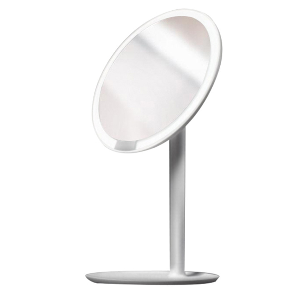 Buy Cheap Adjustable Led Makeup Mirror With Lamp Desktop Portable Multi-function Storage Dressing Beauty Makeup Mirror Makeup Tools & Accessories