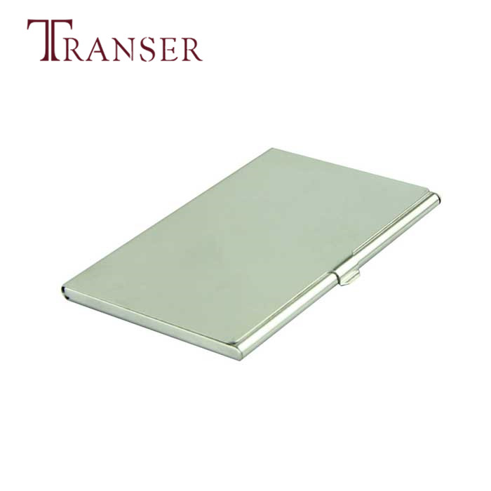 Aliexpress.com : Buy TRANSER Voberry Silver Business Card Holder ...