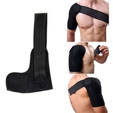 1 PC Adjustable Professional Shoulder Pads Protector Straps Volleyball Basketball Breathable Shoulder Brace Support Wraps