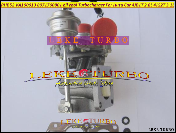 Free Ship RHB5 VA190013 VICB 8971760801 oil cooled Turbo Turbine Turbocharger For ISUZU MIKADO Pickup Car 4JB1T 2.8L 4JG2T 3.1L mikado fishunter 2 съедобная резина 9 5 см 313 уп 5 шт