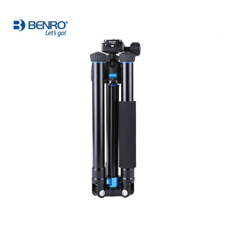Venda quente luz de viagem tripé Benro tripés reflexed IS05 Auto alavanca Vara Selfie Monopé para Câmeras Mirrorless Smartphones