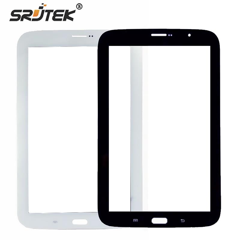 Srjtek 8 For Samsung Galaxy Note 8.0 N5110 Touch Screen With Digitizer Panel Front Glass Lens Black white touch screen digitizer glass lens with tape for samsung galaxy tab 4 10 1 t530 t531 with tools free dhl
