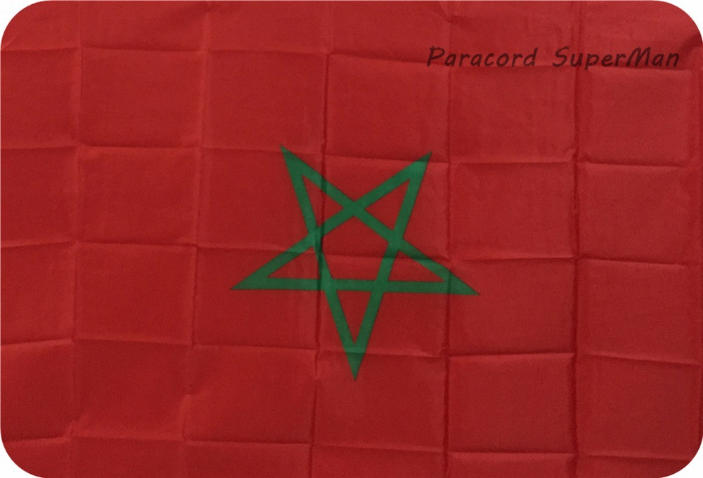 Morocco Flag Polyester 3 ft. x 5 ft.