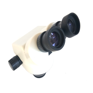 Image 2 - Big table 7X 45X Industrial Binocular stereo microscope with 0.5X Objective lens barlow for phone PCB Motherboard repair tools
