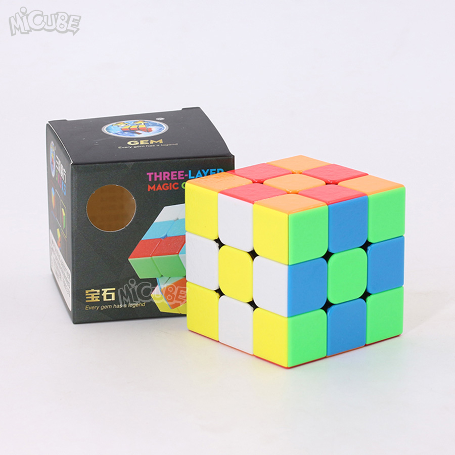 Puzzles & Games Column Cylinder Cube 3x3x3 Magic Cube 3x3 Special Strange Shape Puzzle Stickerless Educational Toys For Children Cubo Magico