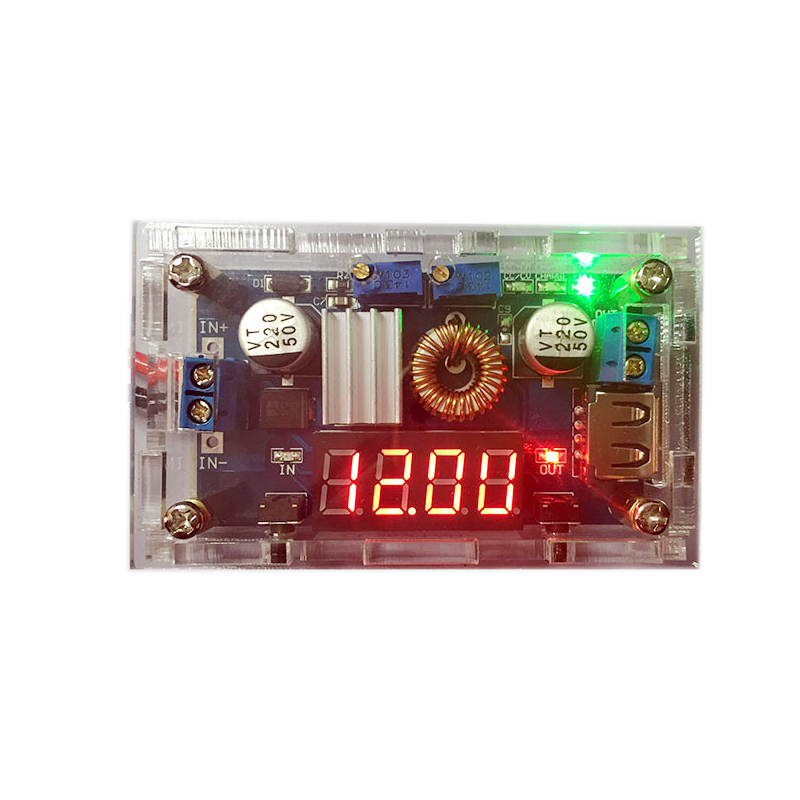 High power DC adjustable 24V 12V to 5V step down module constant current constant voltage 3V6V step down power chip in Switching Power Supply from Home Improvement