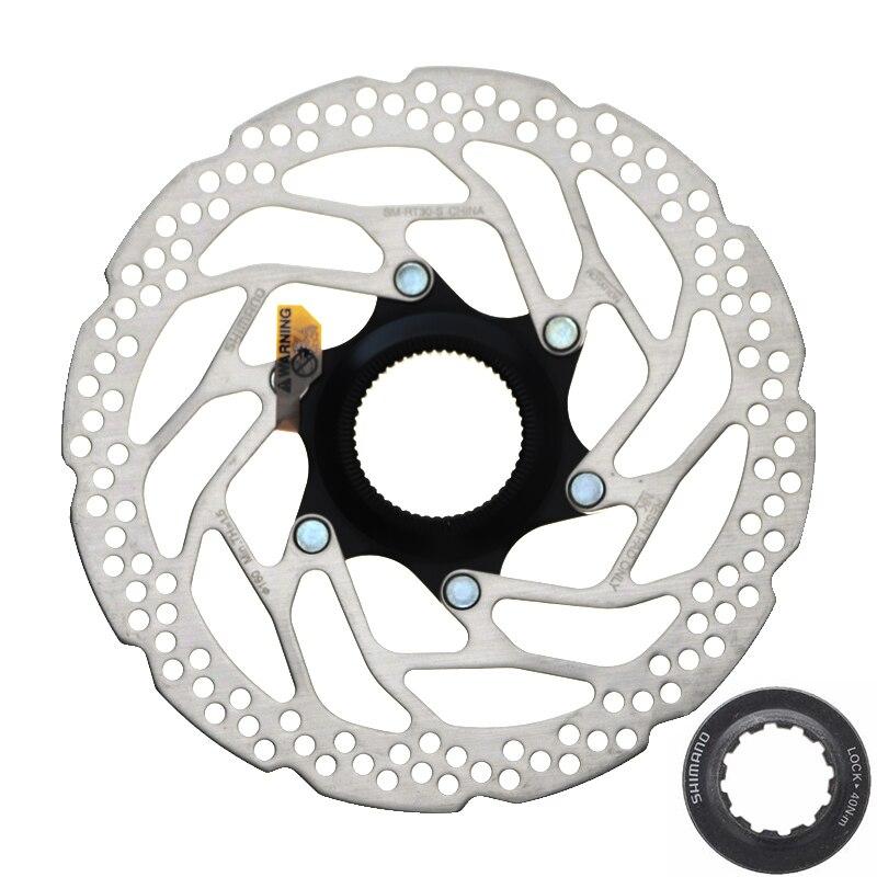 SHIMANO DEORE SM RT30 Brake Disc CENTER LOCK Disc Rotor Mountain Bikes Disc Brake Disc 160MM 180MM MTB