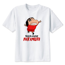 442898325 Shin chan T-shirts mulheres T3088 Wowomen Top Tees Camisetas Moda de Alta  Qualidade