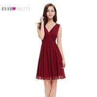 03989 Double V Neck White Short Party Dress