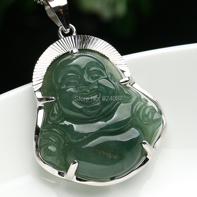 925 sterling silver inlaid jade buddha pendant natural a burma 925 sterling silver inlaid jade buddha pendant natural a burma jade green jade buddha pendant oil mozeypictures Images