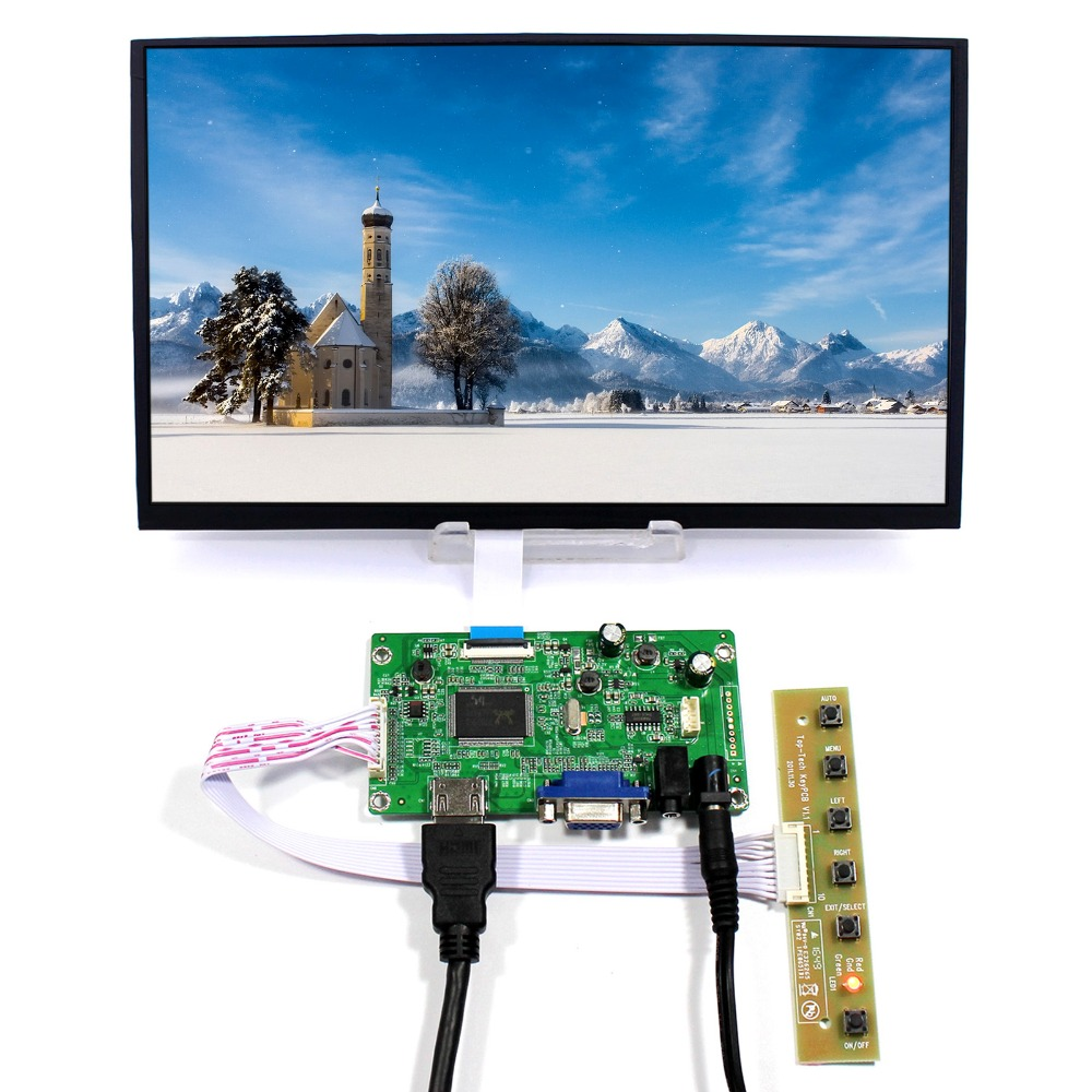 HDMI VGA LCD Controller Board With 11.6inch 1920x1080 M116X40 IPS 30Pin LCD Screen hdmi vga audio lcd controller board with 11 6inch 1920x1080 n116hse ips lcd screen