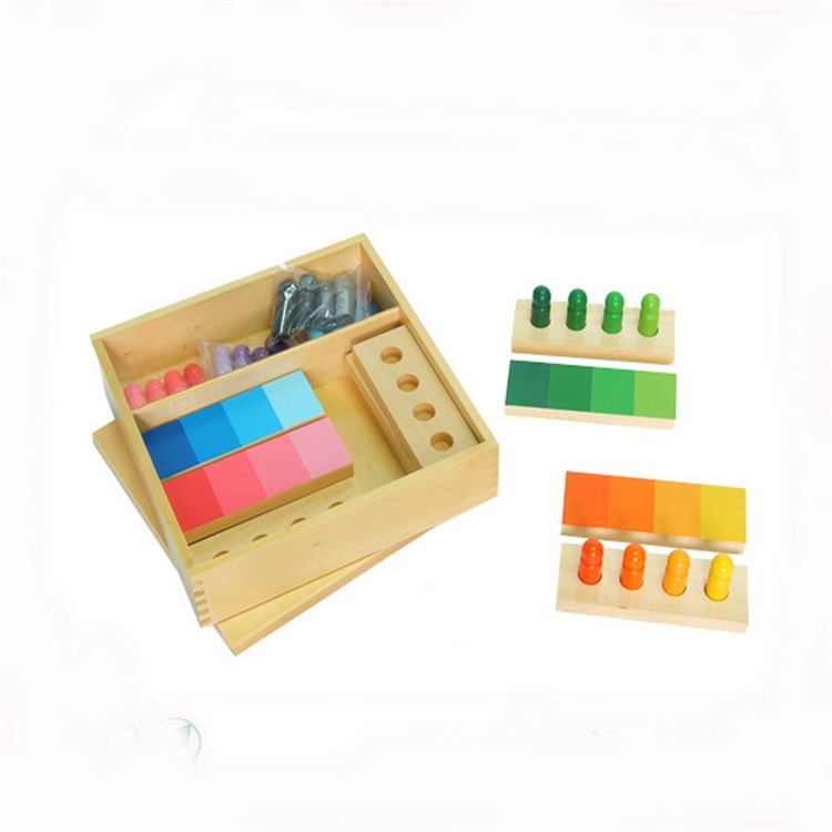 Montessori professional early education teaching aids kindergarten Montessori baby teaching aids color card toy card