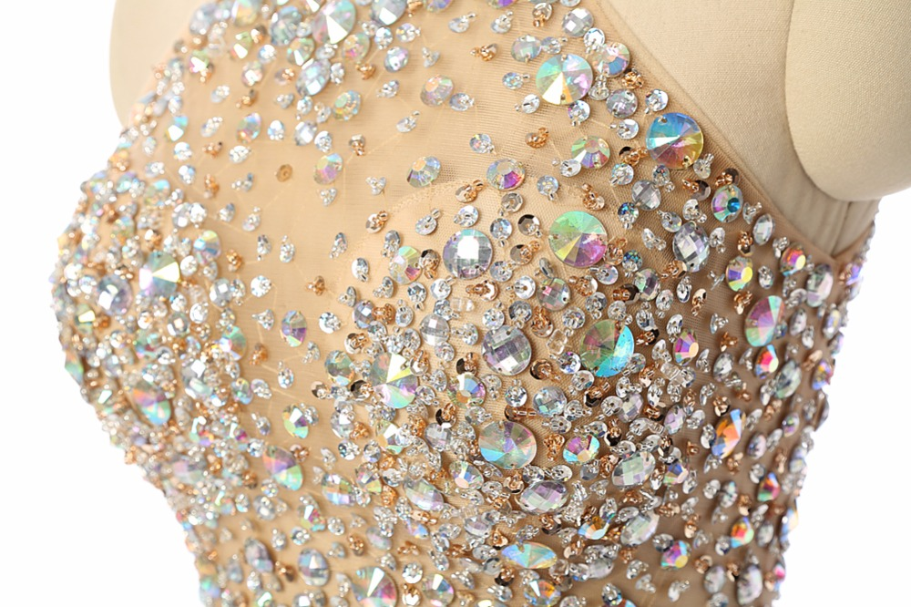 Luxury-Champagne-Short-Prom-Dresses-Mermaid-2017-Beading-Crystal-Imported-Party-Dress-Vestido-Formatura-Evening-Gowns (3)