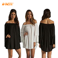 Chiffon Off Shoulder Dresses Plus Size for Pregnant Women Lady Solid Photography Prop Maternity Dress Fashion Casual