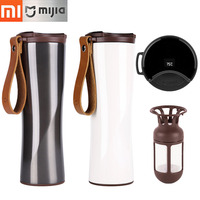 Xiaomi Vacuum Flasks Moka Smart Vacuum Bottle Coffee Thermos Touch Temperature Display Travel mug Stainless Steel Coffee Cup
