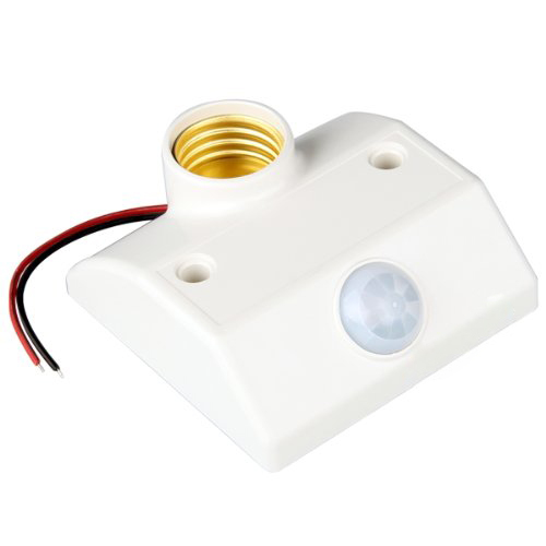 ETC Base Socket IR Lamp Bulb Movement Detector