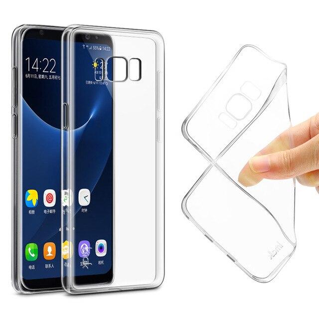 samsung original s8 plus clear phone case cover
