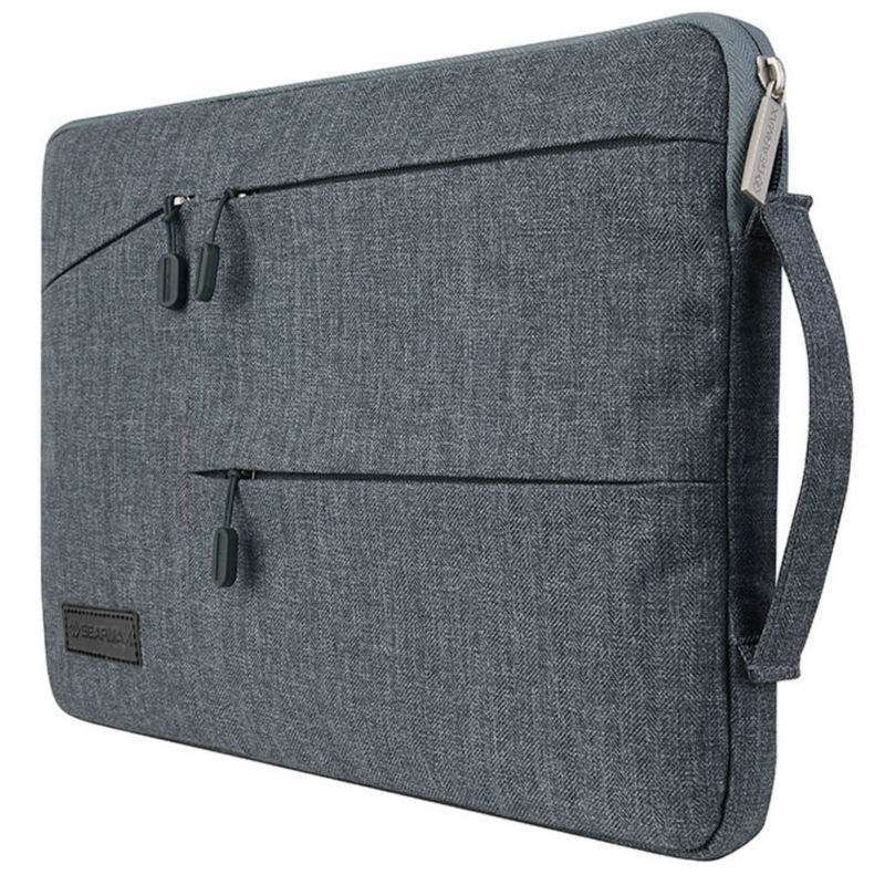 WIWU Top Quality Laptop Case for MacBook Air Pro 13 15 Notebook Bag for MacBook Anti-theft for Xiaomi Air 13 Laptop Sleeve 15.6 wiwu waterproof laptop bag case for macbook pro 13 15 air bag for xiaomi notebook air 13 shockproof nylon laptop sleeve 14 15 6