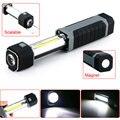Moda 2 in1 3 W COB Estirable LED Linterna Antorcha de Luz Que Acampa Lámpara de Trabajo con Fuerte Imán
