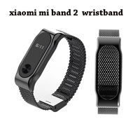 Free shopping  Hot Sale Mi Band 2 Metal Wrist Strap For Original Xiaomi Miband 2 Smart Bracelet Stainless Screwless Wristband