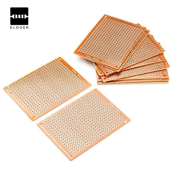 Electronic kit Circuit Breadboards 10pcs Blank PCB Breadboard Universal DIY Phototype Board Single Side