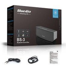 Orignal Bluedio BS-3 haut-parleurs Bluetooth Portable Sans Fil haut-parleur Accueil souper Basse Haut-Parleur Son Système 3D stéréo Musique