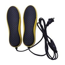 Портативная электрическая сушилка для обуви, 220 В, осушение, стерилизация, осушение, обувь, запеченная сушилка для обуви 20 Вт(штепсельная вилка США