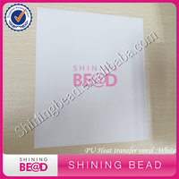 10 x 12 White PU Flex Heat Transfer Vinyl with Assorted Colors for T shirts, Garments, Bags and Other Fabric