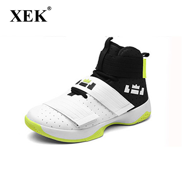 XEK New High Top Camouflage Basketball Shoes zapatillas hombre deportiva sneakers for men GSS32