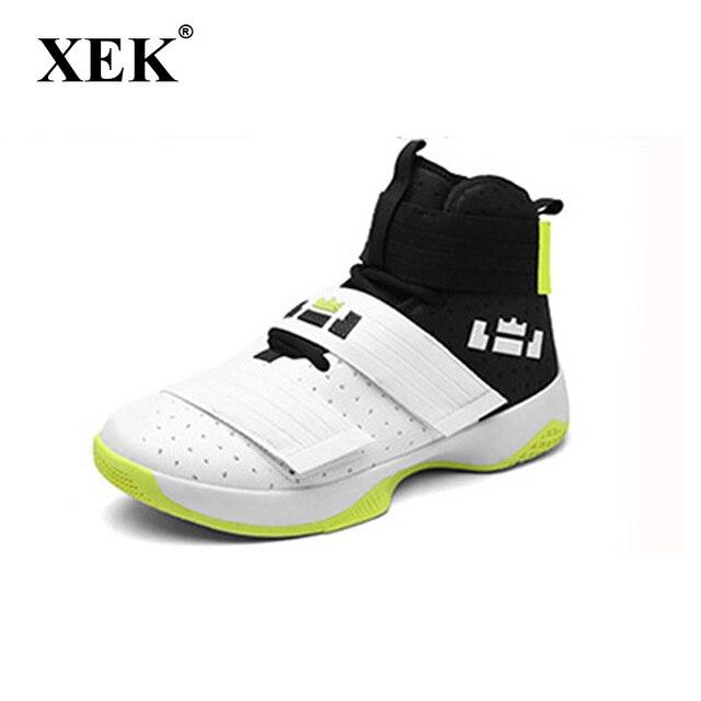 XEK Nova Alta Top Camuflagem Tênis De Basquete tênis para homens zapatillas hombre deportiva GSS32