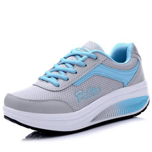 Women Comfort Fashion Casual Shoes Breathable Mesh Lace-Up Shoes Girls Refresh Mixed Colors Light Sneakers