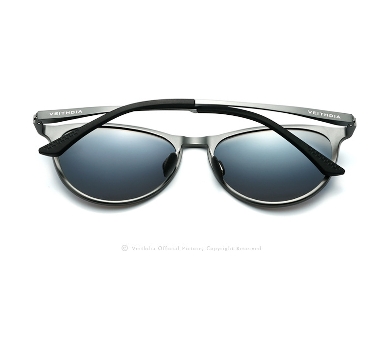 03eb531b2 Veithdia V6625 للجنسين الرجعية ماركة نظارات الألومنيوم المغنيسيوم ...