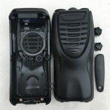 De voorkant case behuizing shell voor kenwood tk3307 tk2307 tk 2302 walkie talkie voor vervanging