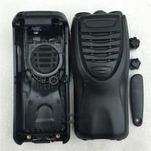 La parte anteriore di caso guscio di alloggiamento per kenwood tk3307 tk2307 tk 2302 walkie talkie per la sostituzione