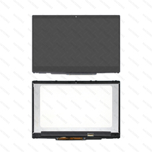 FHD LED LCD Touch Screen Glass Panel +Frame For HP Pavilion x360 15-cr0052od 4CD97UA 15-cr0053wm 4EY76UA 15-cr0064st 4CD96UA