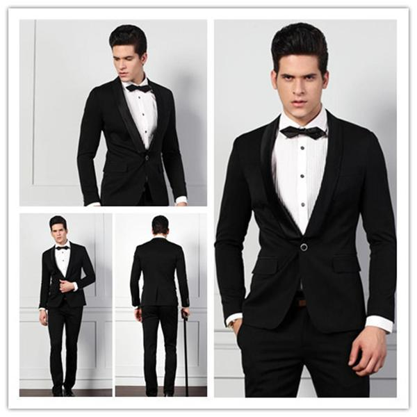 Bespoke New Design Fashion Wedding Suits For Men