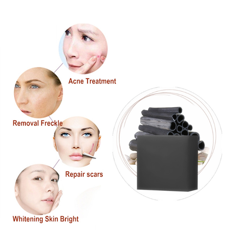 Acne Treatment Skin Black Pigmentation Whitening Anti Acne Scar Removal Pimple Pores  Blackhead Cleaning Handmade Soap Skin Care