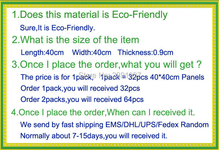 Ingyenes szállítás 36db 40 * 40cm poliészter anyagból akusztikus - Lakberendezés - Fénykép 6
