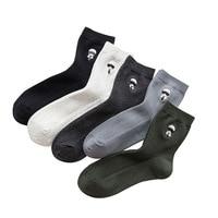 2018 New Men's Socks Casual Men's Tube Socks Korean Version of the College Wind Student Cotton Socks U0025