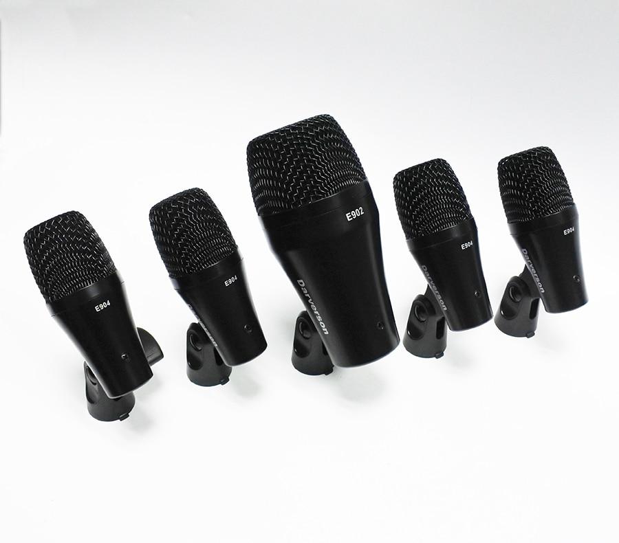 D112 MKII E902 PGA52 D40 E904 PGA56 kick snare tom charleston 5 tambour kit micro instrument microphone dynamique