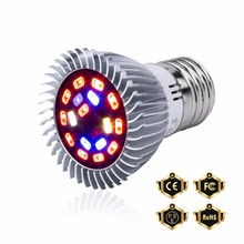 Hydroponics Full Spectrum LED Lamp E27 Plante Indoor Growing Light 18W 28W E14 Grow 220V Greenhouse Growbox Bulb
