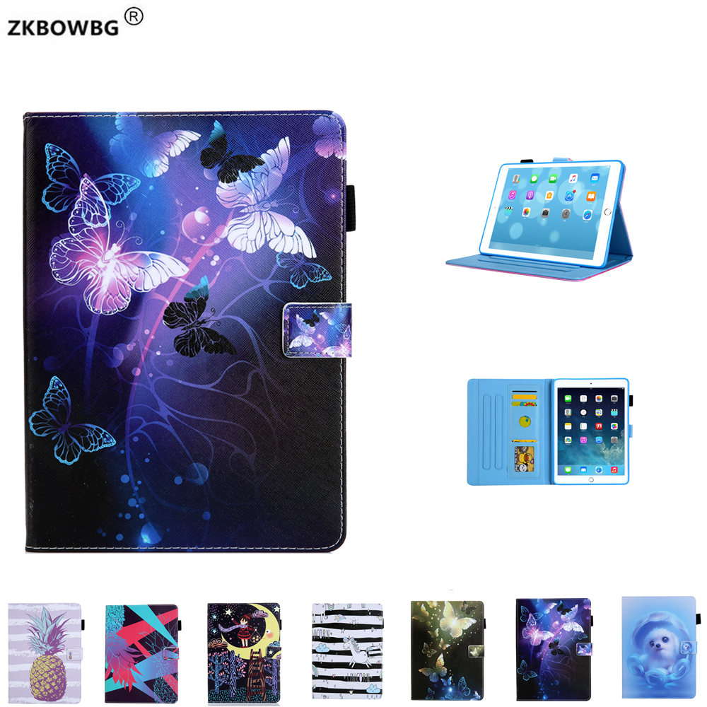 Pu Leather Soft TPU Back Cover for iPad 6th generation Sleeve Pouch Bags Case For iPad Air 2 1 For Ipad 9.7 2017 2018 Pro 9.7