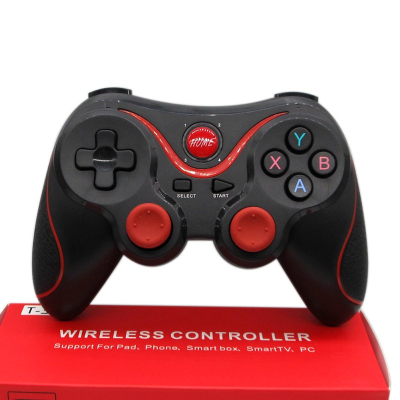 T3 Wireless Bluetooth Gamepad Controller Holder Stand Phone Direct Connect For iPhone SamSung Xiaomi PC