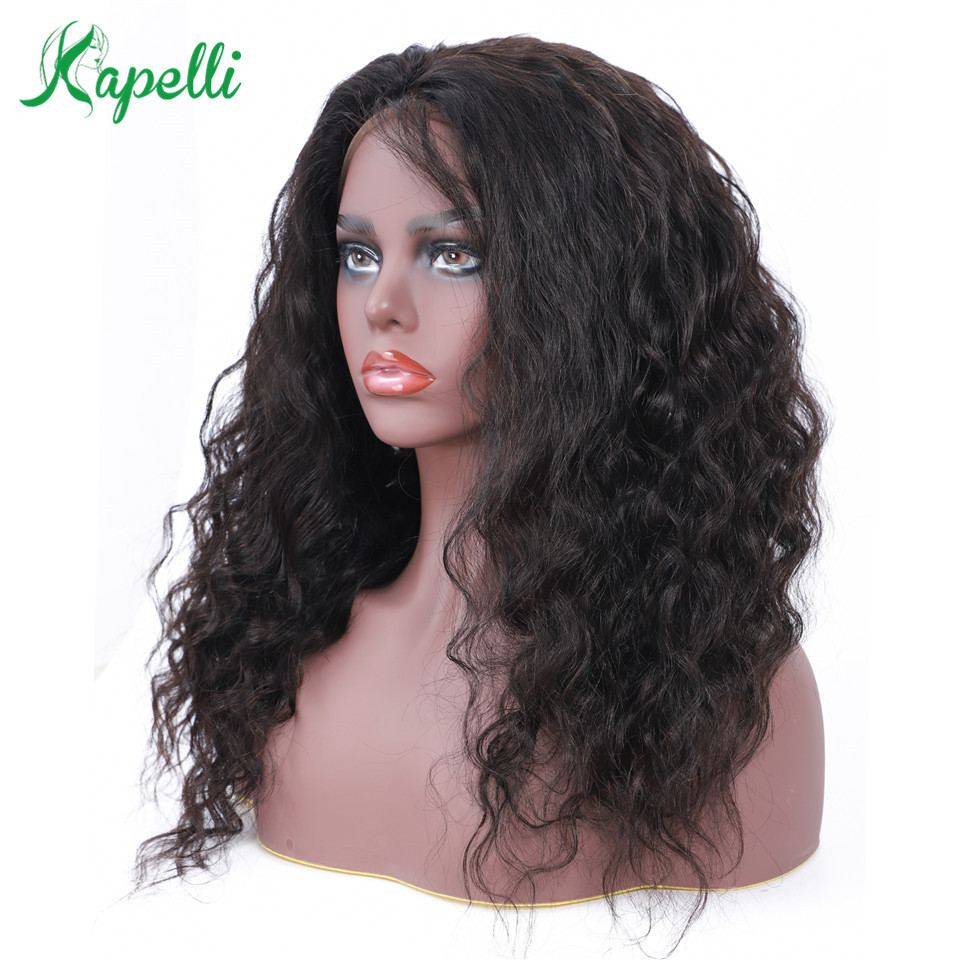 Malaysian Human Hair Wig Glueless Full Lace Human Hair Wigs With Baby Hair Pre Plucked Wig Natural Hairline Loose Wave Remy Hair
