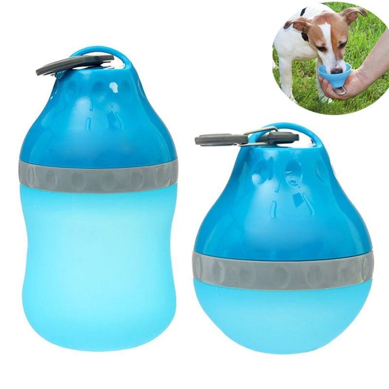 Portable Pet Travel Water Bowl Bottle Dispenser Feeder Cat: Collapsible Water Bottle, Portable For Pet Travel Water