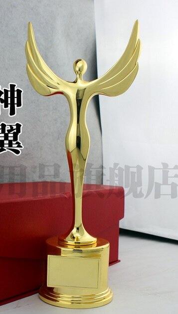 online shop 32cm zinc alloy academy award oscar statue angel godness
