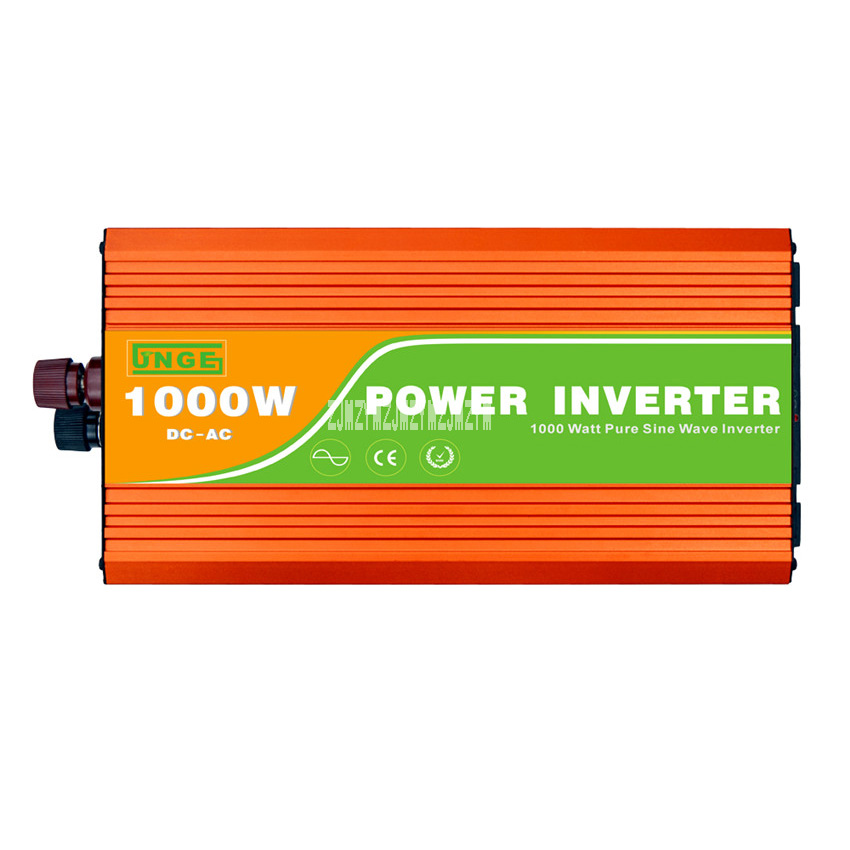 цена на Peak 2000W Pure Sine Wave High Frequency Inverter JN-H 1000W 12V/24V/48V to 220V/110V 50Hz/60Hz 1KW Pure Sine Wave Inverter Hot
