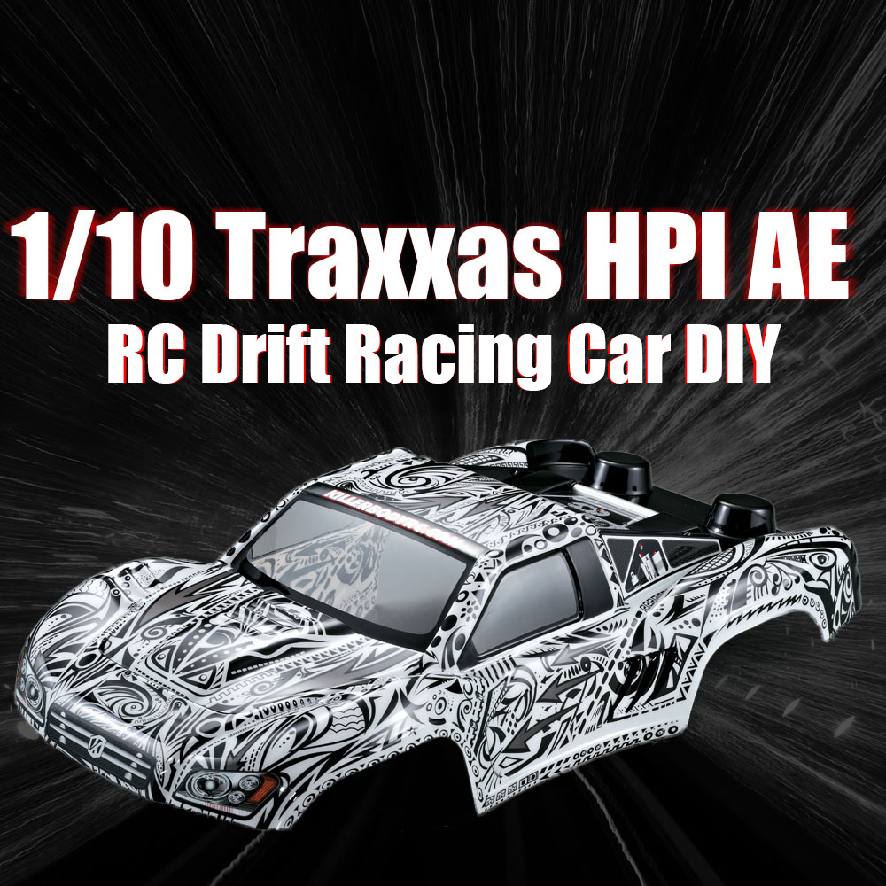RC Car DIY Shell 48034 327mm Short Course Truck Finished Body Shell Frame for 1:10 Traxxas HPI AE RC Drift Racing Cars DIY Parts 4pcs set rc parts 12mm hex bead loc short course ruber tire rims for hpi hsp rc 1 10 traxxas slash