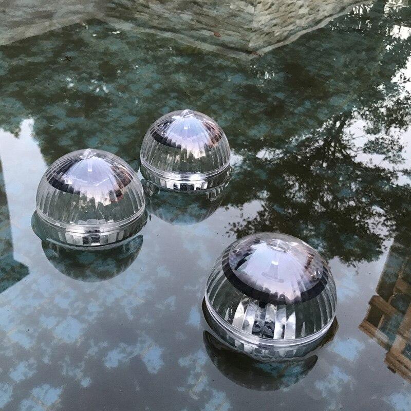 Solar Power Lamp Floating RGB Pond Light LED Lamp For Outdoor Garden Pool Decor LKS99