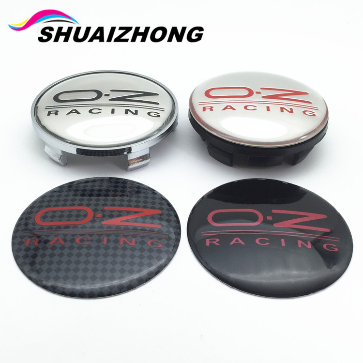 20pcs 65/68mm OZ Racing Car Badge Emblem Sticker Car Wheel Center Cover Cap Hub Rim for Octavia A5 Fabia Superb Auto Accessories